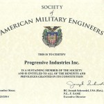 Progressive Industries Is Now Certified With SAME