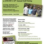The 16th Annual GNCDC Golf Outing is coming soon!